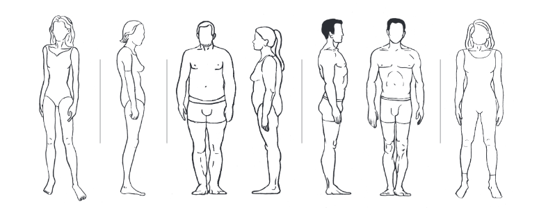 five-body-types